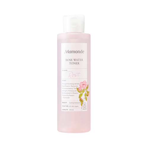 Mamonde Rose Water Toner is the best toner for glowing skin. Use to help give an extra dose of glow.